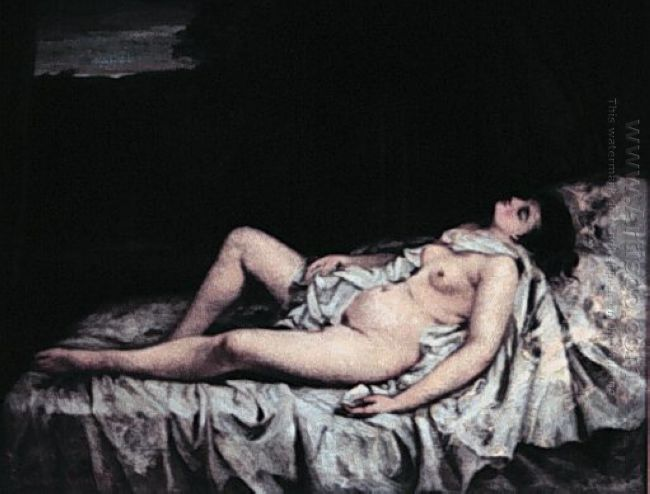 Oil Reclining Nude