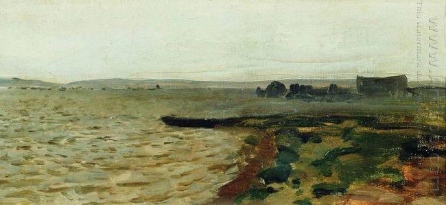 Oil Riverbank