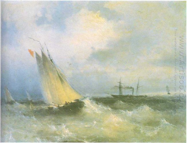 Oil Seascape 1874