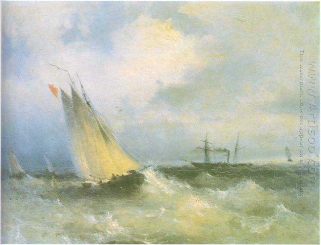 Oil Seascape 1874