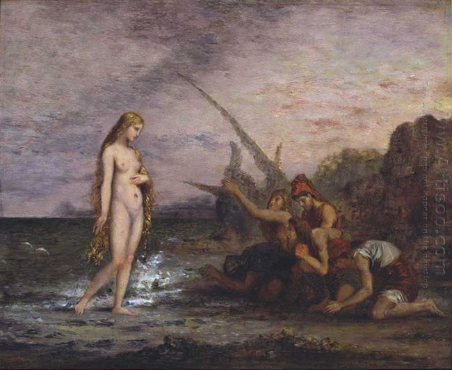 Oil The Birth Of Venus