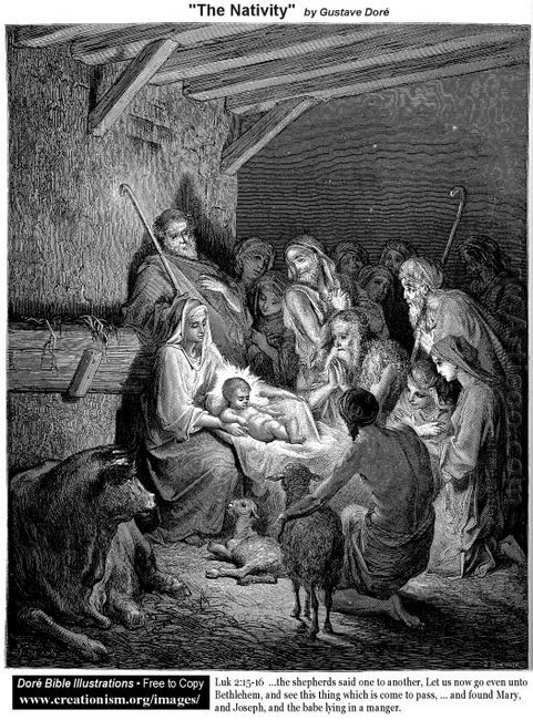Oil The Nativity