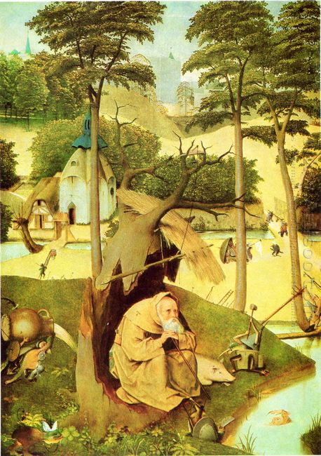 Oil The Temptation Of St Anthony