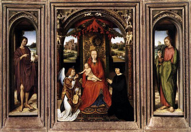 Oil Triptych