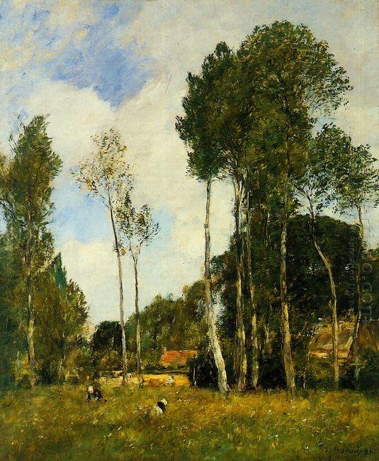 Oiseme Landscape Near Chartres 1891