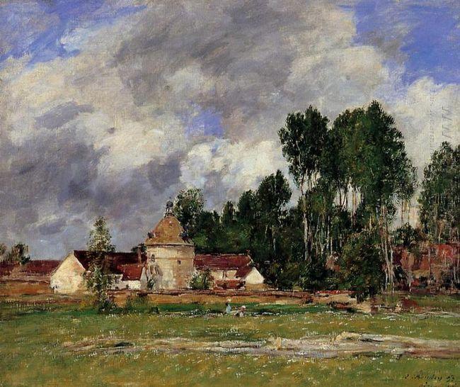 Oiseme Landscape Near Chartres 1893