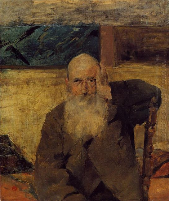 Old Man At Celeyran 1882