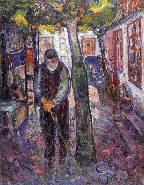Old Man In Warnemunde 1907
