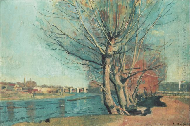 On The Banks Of The Manzanares 1878