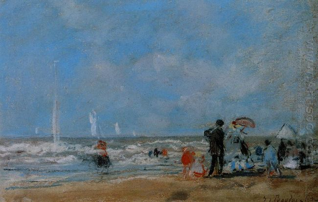 On The Beach 1863