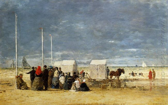 On The Beach 1867