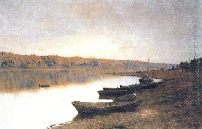 On The River Volga 1888