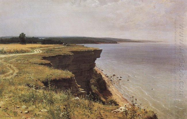 On The Shore Of The Gulf Of Finland Udrias Near Narva 1889