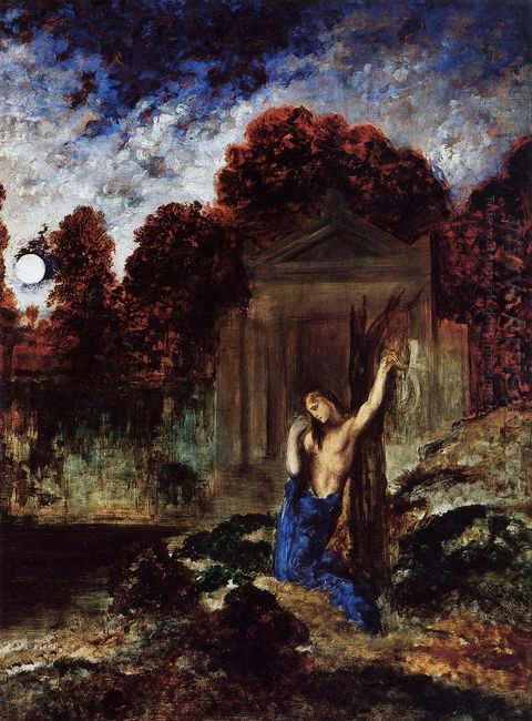 Orpheus At The Tomb Of Eurydice 1891