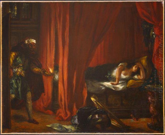 Othello And Desdemona 1849