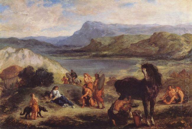 Ovid Among The Scythians 1859