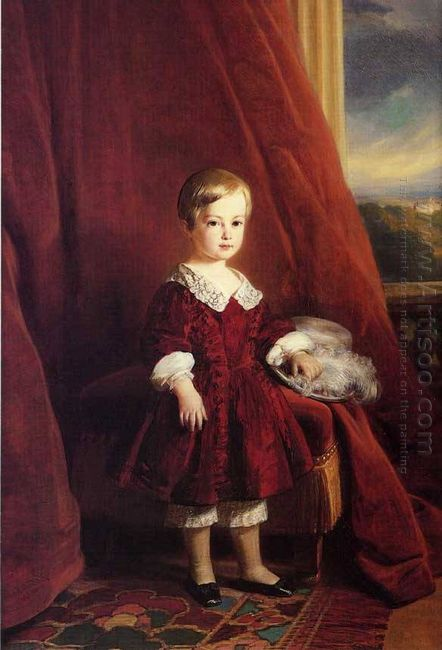 Painting Of The Count Of Eu As A Child