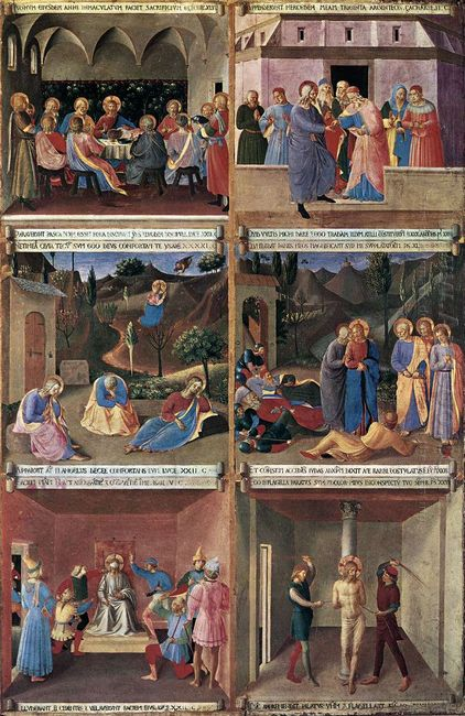Paintings For The Armadio Degli Argenti 1452