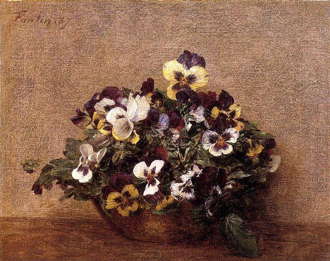 Pansies 1887
