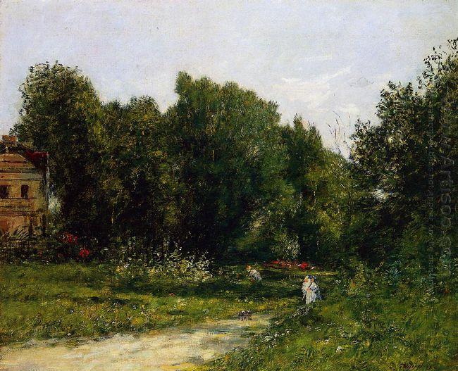 Park Cordieres A Trouville 1873