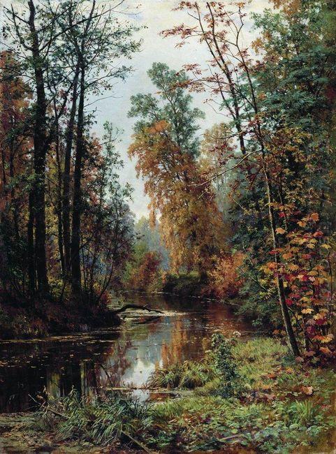 Park In Pavlovsk 1889
