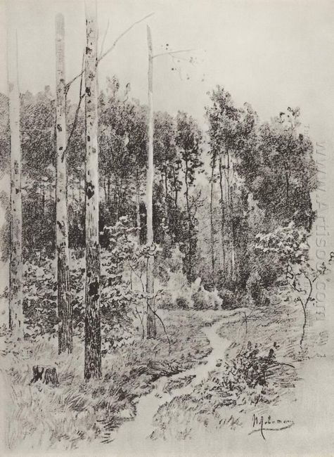 Path In The Forest 1884