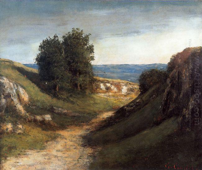 Paysage Guyere 1876