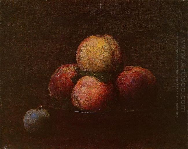 Peaches And A Plum 1879