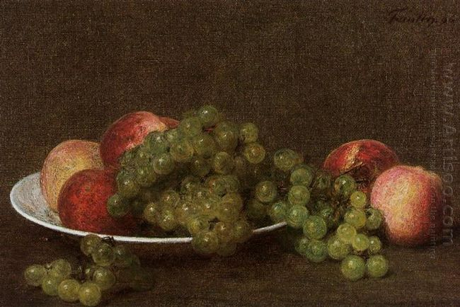 Peaches And Grapes 1896