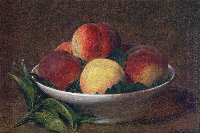 Peaches In A Bowl 1894