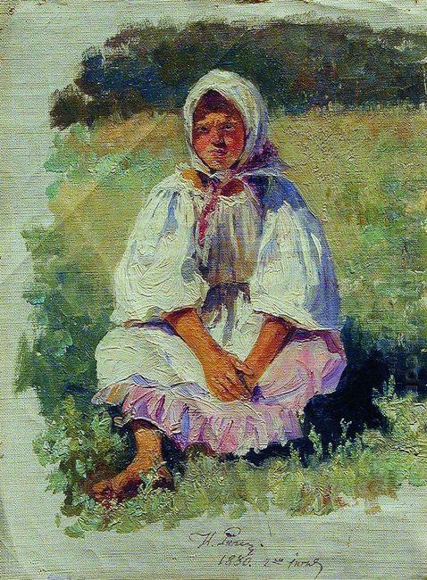 Peasant Girl 1880