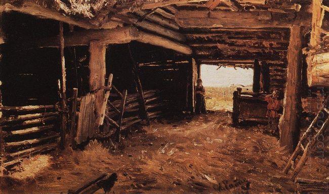 Peasant Yard 1879