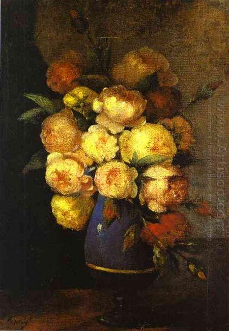 Peonies In A Vase 1864