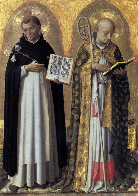 Perugia Altarpiece Left Panel 1448