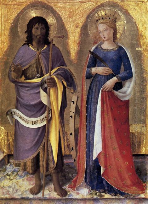 Perugia Altarpiece Right Panel 1448
