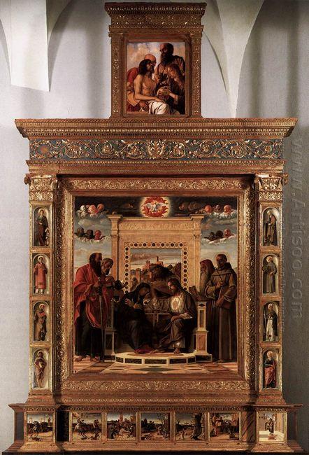 Pesaro Altarpiece 1474 2