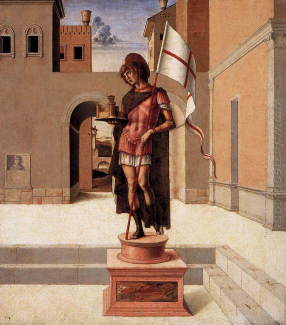 Pesaro Altarpiece Predella 1474