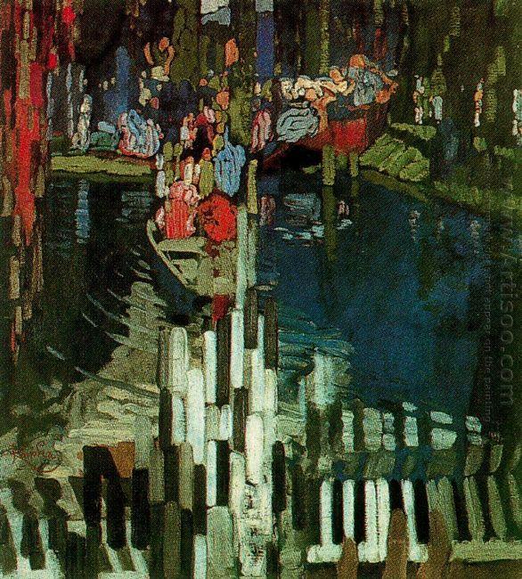 Piano Keys Lake 1905