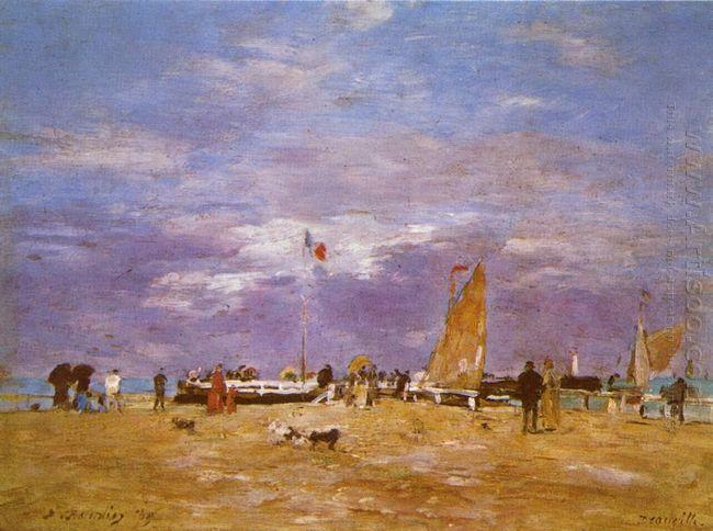 Pier Deauville 1869