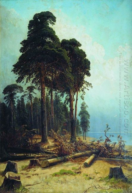 Pine Forest 1884