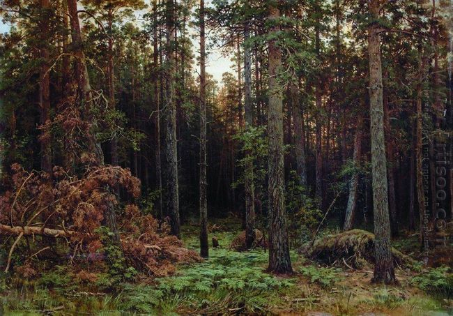 Pine Forest 1885 1