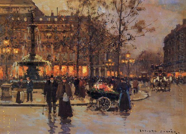 Place Du Theatre De La Comedie Francaise
