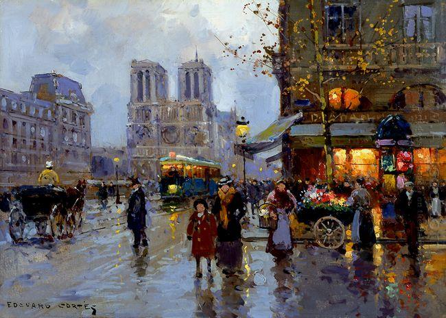 Place Saint Michel Notre Dame 1