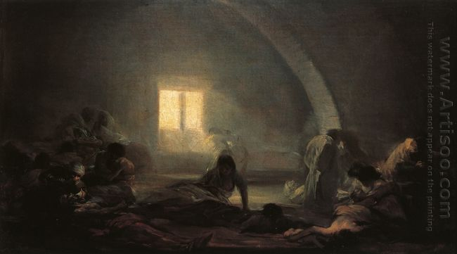 Plague Hospital 1800