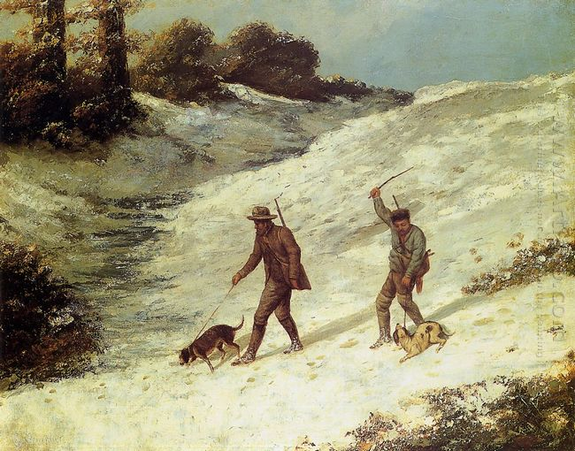 Poachers In The Snow 1867
