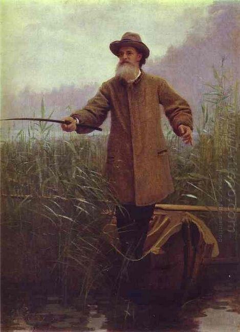 Poet Apollon Nikolaevich Maikov 1883