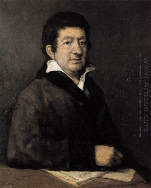 Poet Moratín 1824