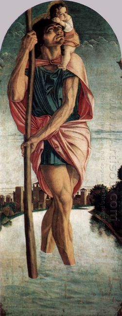 Polyptych Of San Vincenzo Ferreri 1468 5