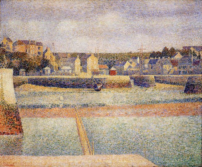 Port En Bessin The Outer Harbor Low Tide 1888