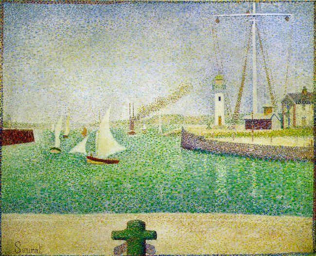 Port Of Honfleur 1886
